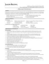 Resume Examples Food Service Examples Of Resumes