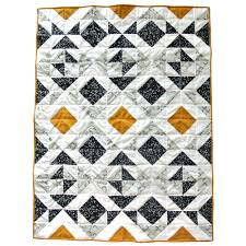 Nordic Triangles Quilt Pattern (Download) - Suzy Quilts & Nordic-Triangles-Pattern. Modern Quilt for Sale Adamdwight.com
