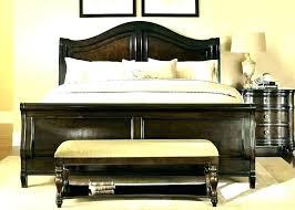 Fancy Bed Frames Bedroom Benches Enchanting Teak Iron