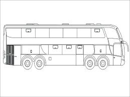 Tổng hợp các bức tranh tô màu xe buýt đẹp nhất dành tặng cho bé