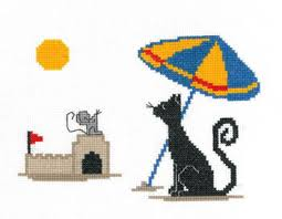 Imaginating Cross Stitch Charts Beach Time Silly Snobs Cross Stitch Chart And 50 Similar Items