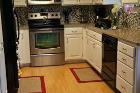 kitchen accent rugs small gray and white with red rug intended for the brilliant along interesting kitchen accent rugs