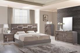 Glamorous Grey Zebra Wood LED Bedroom Set Philadelphia Pennsylvania ...