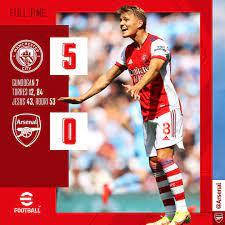 Arsenal - Beaten in Manchester.
