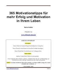 365 Motivationstipps Für Mehr Erfolg Und Motivation In Ihrem Leben