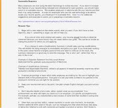 Resume Summary Of Skills Examples Radiovkm Resume Samples