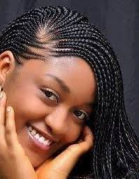 Simple Modele De Coiffure Afro Pour Femme