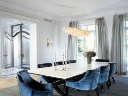 Furniture: Blue Dining Room Chairs Elegant Sybaritic Spaces Blue Green And Dining  Rooms - Blue