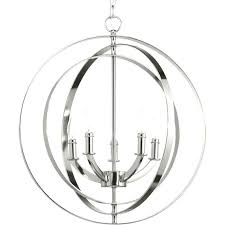 progress lighting 5 light chandelier burnished silver equinox wide taper candle globe trinity brushed nickel standard