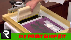 screen printing starter kit the holiday gift hobby edition