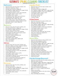 cleaning checklist the ultimate spring cleaning checklist cleaning tips with our