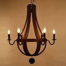 wine barrel lighting. LightInTheBox Vintage Amercian Rustic Wooden Pendant Wine Barrel Chandelier Lamp Living And Bedroom Ceiling Light Fixture Lighting