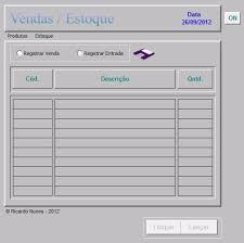 Planilhas De Controle De Estoque Excel Planilha Vendas Controle Estoque Lucro R 50 00 Em