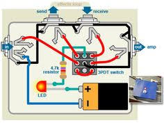 introduction to diy guitar effects pedals a simple killswitch Coleman Generator Wiring Diagram electrical wiring ts0134diagram2 distortion plus wiring diagram off board 98 d distortion plus wiring diagram