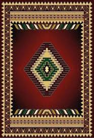 southwestern area rugs excellent burgundy arrow rug intended for29
