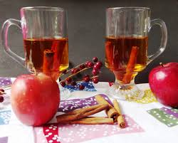 Image result for cider beside the fireplace