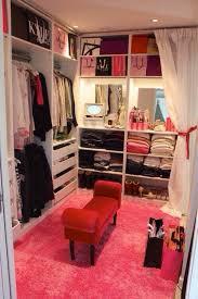 girly walk in closet design. Closet, Clothing, Design, Girly, Interior, Pink, Walk In, White Girly In Closet Design