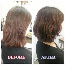 硬くハリのある髪質のお客様にパーマをかけました Staff Blog