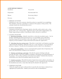 gallery of sample report writing format template report  10