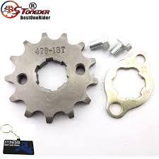 Us 5 56 19 Off Stoneder 428 13 Tooth 20mm Front Chain Sprocket Gear For Atv Quad Pit Dirt Bike 50cc 70cc 90cc 110cc 125cc 140cc 150cc 160cc In