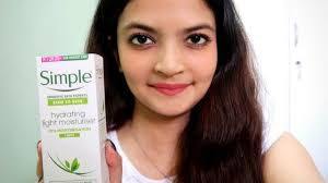 Simple Kind To Skin Hydrating Light Moisturizer Review Simple Moisturiser Hydration Light Moisturiser Review India Hindi Itsarpitatime
