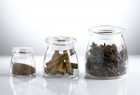 terrific herb spice storage jars herb canister in glass easy lid with rubber medium up to small glass kitchen storage