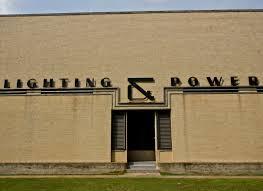 houston lighting power co eastside substation completed circa 1948 houston tx june 2016