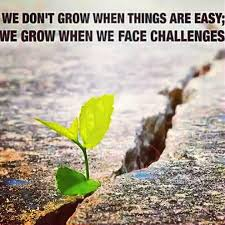 We Grow When We Face Challenges Pictures Photos And Images For Inspiration Challenges Quots