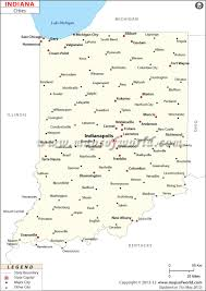 cities in indiana indiana cities map