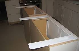 countertop island supports throughout quartz overhang plans 6