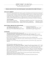 Business Development Manager Resume Berathen Com