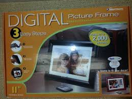 smartparts sp1100b 11 digital picture frame