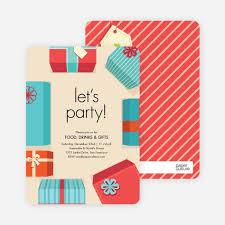 Gift Exchange Invitations