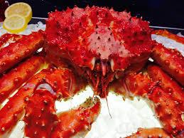 King Crab Legs (Patas de Caranguejo de Rei)