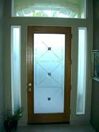 fancy glass panel front door replace glass panels in front door front doors with glass panels