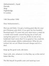 Letters Of Note On Twitter Rik Mayall Responds To An Autograh