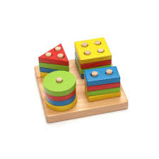 details about children wooden puzzles educational shape sorter preschool geometric blocks game