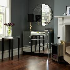 architectural mirrored furniture design ideas with wood full imagas round applied on the grey wall interior architectural mirrored furniture design ideas wood