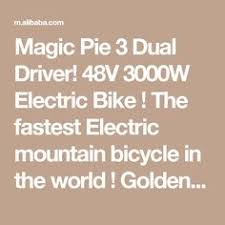 bluetooth programmable golden motor magic pie 5 24v 36v 48v 250w magic pie 3 dual driver 48v 3000w electric bike the fastest electric mountain bicycle