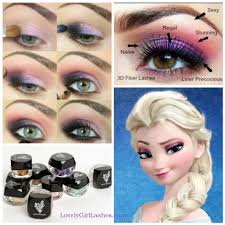 diy frozen eye makeup diy frozen eye shadow how to diy makeup eye makeup eye liner