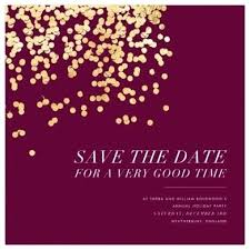 Christmas Party Save The Date Templates Save The Date Christmas Party S Lab