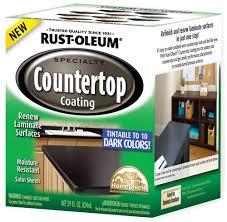 rust oleum specialty dark base countertop coating kit