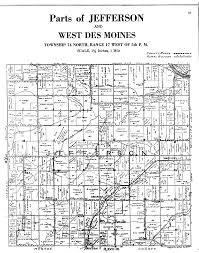 plat maps mahaska county of iowa