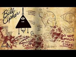 gravity falls book 3 tutorial bill cipher page part 1