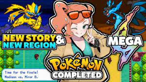 Completed Pokemon GBA ROM Hack With Mega Evolution, New Story