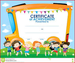 certificates of completion for kids templates clipart school certificate many interesting cliparts