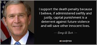 Quote Supporting Death Penalty