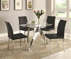 ... Full size of Round Black Finish Source A Dining Tables Round Glass Top  Dining Table Wood