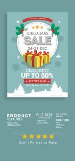 Editable Flyer Template Christmas Sale Flyer Template Psd Well Organized Layer