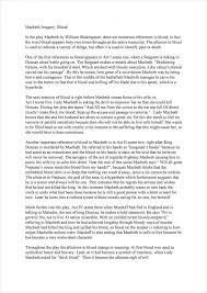 imagery in macbeth essays math problem essay writing topics  best essay examples toreto co imagery topics of good essays macbeth s imagery essay essay medium